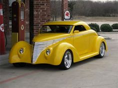 1938 Ford Custom Coupe Street Rod Convertible