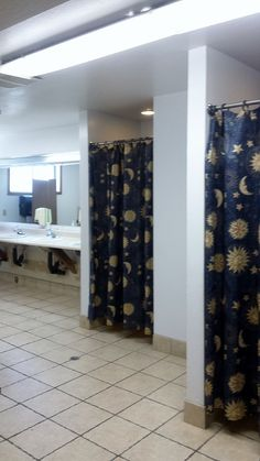 There are 2 (male and female) bathrooms down the hall from the bunk rooms of the Retreat Center.