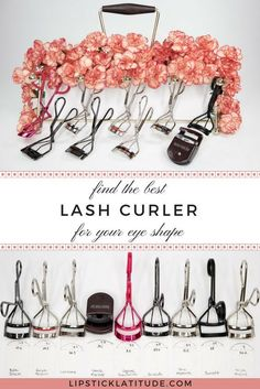 The Best Lash Curler For Your Eye Shape - 2018 Edition | Lipstick Latitude Eye Curler, Best Eyelash Curler, Eyelash Curlers, Curling Eyelashes, Best Curlers, Black Eye Makeup, Makeup Blog, Makeup Ideas, Makeup Tips