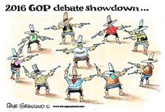 Get ready for the 2016 GOP Debate showdown!