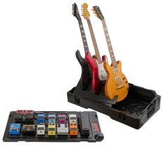 Gator G-GIGBOX2 Updated Gig-Box Pedal Board/Guitar Stand Case
