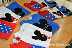 Mamas Like Me: #DIY #Mickey Mouse Shirts - #Disney shirts without the Disney price tag!