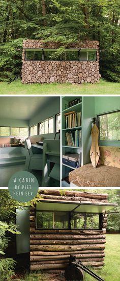 A cabin by Piet Hein Eek