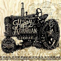 Happy Agrarian Tractor (Geoff Allen)