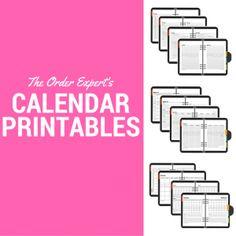 How to Organize a Notebook for Work | The Order Expert Office Organisation, Notebook Organization, Organization Ideas, Calendar Layout, Kids Calendar, Onenote Template, Office Supplies List, Spring Cleaning Checklist, Custom Calendar