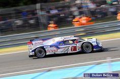 Toyota Alexander Wurz (A)/Stéphane Sarrazin (F)/Kazuki Nakajima (J) 24h Le Mans, Toyota, Racing, Album, Vehicles, Car, Running, Automobile, Auto Racing