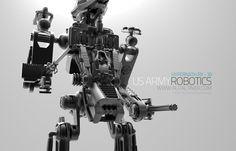 US ARMY ROBOTICS fictional concept design rendered in KeyShot by Alp Altiner.
