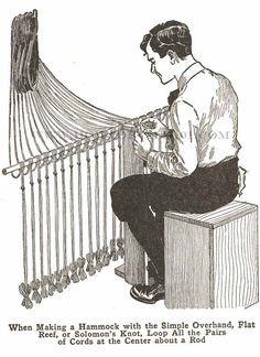 Make Hammocks The full tutorial for a macrame hammock