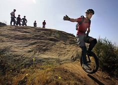 Off-road Unicycle, a.k.a The Nuterator
