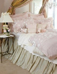 Pink and sweet bedroom