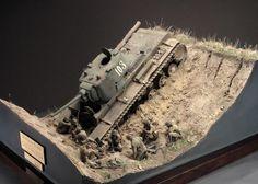 KV-1 1/35 Scale Model Diorama