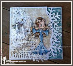 Sementes de Papel, Winter Faery, card, Alicia Bel