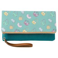 Bag Lovers Doodle clutch bag.