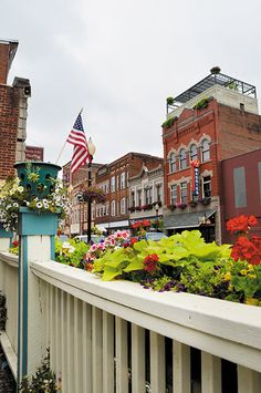 Main Street Buckhannon, West Virginia