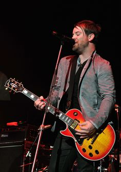 David Cook takes the stage at Tiger Jam 14. Photo credit Lester Cohen.