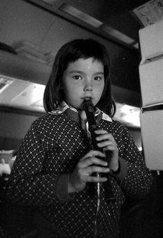 Björk Guðmundsdóttir early 1970s