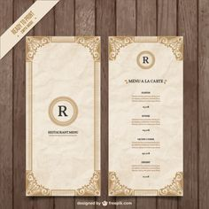 Free Food  Restaurant Menu Templates  Xdesigns  Shoppe Ideas