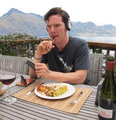 Benedict Cumberbatch's favorite songs, plus more on Sherlock.