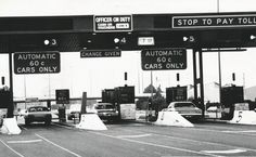 Paying a toll on Westgate Bridge - Melbourne 1985 Australian Continent, Melbourne House, Melbourne Victoria, St Kilda, Largest Countries, Local History, Melbourne Australia, Tasmania, Vintage Signs