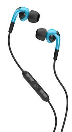 Amazon.com: Skullcandy Fix In-Ear Headphone with 3-Button Remote & Mic - Hot Blue / Black: Electronics