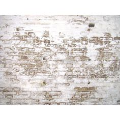 Image*After : textures : white plastered wall bricks dirty paint ❤ liked on Polyvore
