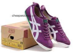 pick up 7350c 6c1af Women Mexico 66 Shoes Purple White Green  onitsukatiger Shoes Uk, Me Too  Shoes,