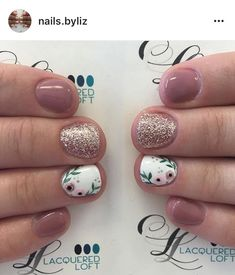 Are you looking for Short Nail Design Ideas For Summer See our collection full of Short Nail Design Ideas For Summer 2018 and get inspired! You are in the right place about popular spring nails Fancy Nails, Trendy Nails, Diy Nails, Cute Nails, Manicure For Short Nails, Cute Shellac Nails, Simple Gel Nails, Cute Short Nails, Shellac Manicure