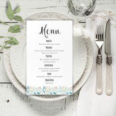 Svadobné menu, svadobná menu karta Martini, Place Cards, Menu, Place Card Holders, Tableware, Wedding Stuff, Menu Board Design, Dinnerware, Tablewares