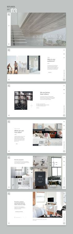 Website Design 2015/16 on Behance