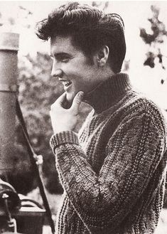 The King, Elvis Presley.  Another cool pic.
