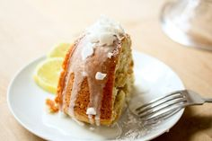 Vegan Meyer Lemon Coconut Bundt Cake | Feasting At Home