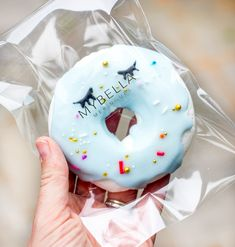 'Do Nut Worry', we've got you're GF donuts sorted in the form of meringues. What's more they have super cute sleepy eyes. From Mybella Meringues.