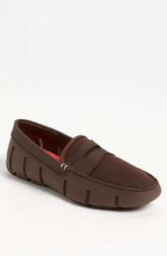Swims Penny Loafer available at Mens Smart Casual Shoes, Smart Casual Footwear, Penny Loafers, Leather Loafers, Loafers Men, Walk In My Shoes, New Shoes, Nigerian Men Fashion, Chelsea