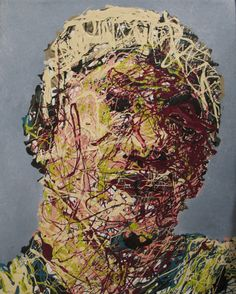 Abstract Drip Painting from the series Different by Craig Paul Nowak Drip Painting, Abstract Portrait, Jackson Pollock, Pictures To Paint, Paintings, Canvas, Artist, Tela, Paint