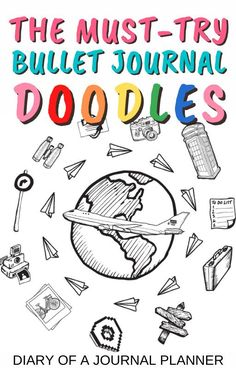 For the ultimate list of step-by-step doodle guides to embellish the pages of your bullet journal, click here! #doodles #bulletjournaldoodles #bulletjournaladdict