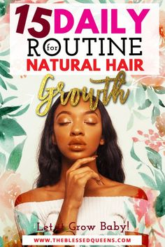 15 Daily Routine For Natural Hair Growth.Let it Grow Baby! 15 Daily Routine For Natural Hair Growth.Let it Grow Baby! The post 15 Daily Routine For Natural Hair Growth.Let it Grow Baby! appeared first on Gesundheit. Natural Hair Regimen, Natural Hair Care Tips, Natural Hair Growth, Natural Hair Journey, Natural Hair Styles, Natural Beauty, Natural Hair Conditioner, Deep Conditioner, Natural Shampoo