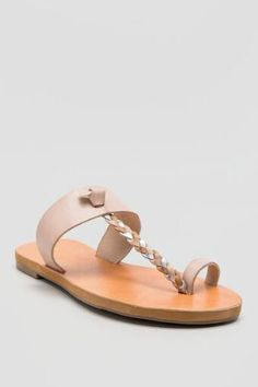 BC, Compact Braided Toe Ring Thong