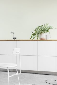 Have you heard of Reform? It& a Denmark-based brand that allows you to hack IKEA units into beautiful, functional and architecturally-inspired designs Ikea Kitchen Doors, White Ikea Kitchen, Kitchen Furniture, Kitchen Decor, Kitchen Styling, Kitchen Cost, Kitchen Tv, Furniture Nyc, White Bathroom