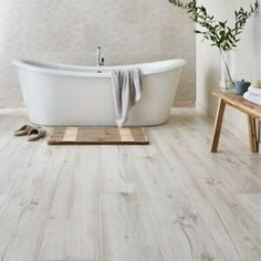 67 Best Ideas for light wood tile floor bedroom Wood Effect Floor Tiles, Wood Wall Tiles, Wood Tile Bathroom Floor, Wooden Floor Tiles, Wood Tile Floors, Room Tiles, Light Wood Flooring, Bathroom Cabinets, Bathroom Faucets