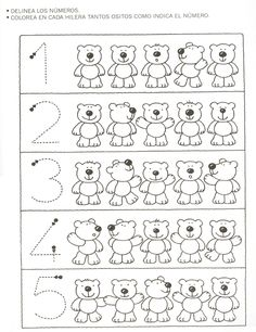 Profª Marcela - atividades: Números de 1 a 10 - 5