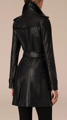 Leather Trench Coat - Perfect fit!