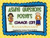 Asking Questions Posters {Who?, What?, When?, Where?, Why?