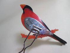 【江月】アンティーク・大振りな鳥デザインのかんざし(櫛簪)_画像3