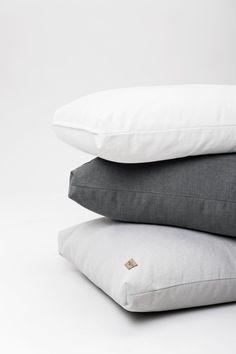 Syli puuvilla/pellava lattiatyyny Inside Bag, Floor Cushions, Bean Bag, Cotton Linen, Swan, Bed Pillows, Pillow Cases, Colours, Flooring