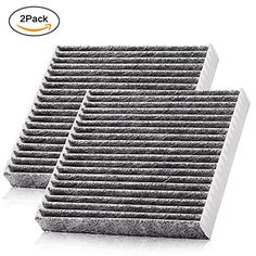 Car Cabin Air Filter Replacement for CF10285 with Active Carbon for Toyota / Lexus / Scion / Subaru, against Bacteria Dust Viruses Pollen Gases Odors by VARANDA (2) #Cabin #Filter #Replacement #with #Active #Carbon #Toyota #Lexus #Scion #Subaru, #against #Bacteria #Dust #Viruses #Pollen #Gases #Odors #VARANDA