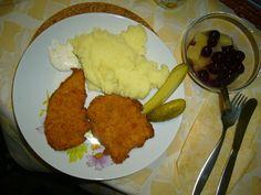 Jednoduchý recept na přípravu opravdu jemných kuřecích nebo vepřových řízků, možno použít i u vánočního kapra. Meat, Chicken, Food, Essen, Meals, Yemek, Eten, Cubs