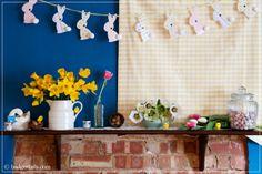 Badgertails ~ Homemaker: Decorating for Easter