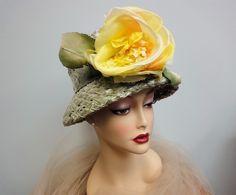 1960's Straw Hat
