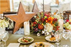 fall wedding tables cape