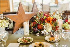 fall wedding tables cape